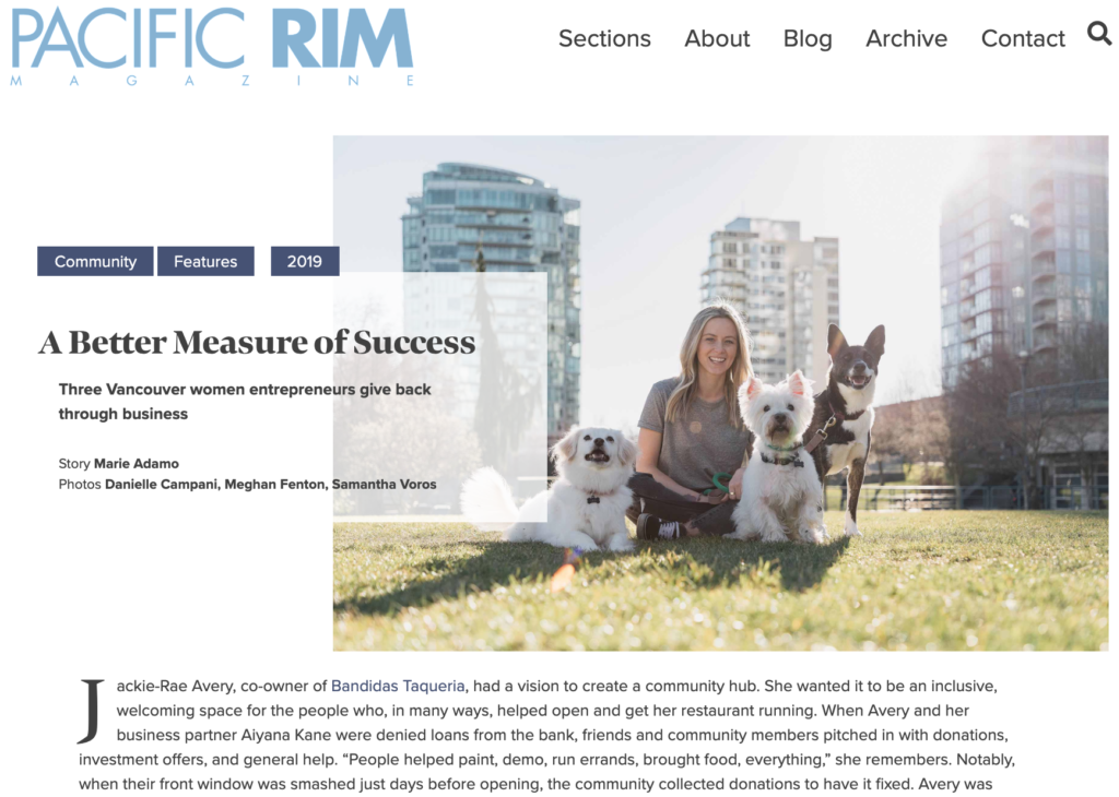 A Better Measure of Success — feature article for PRM